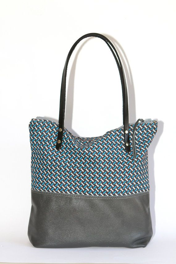 Leather Tote Bag by ChameleonBags $134