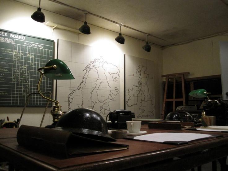 War Room set at Gravesend, Kent