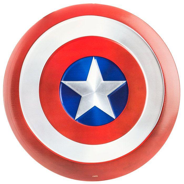 Captain America Shield Metal Sign