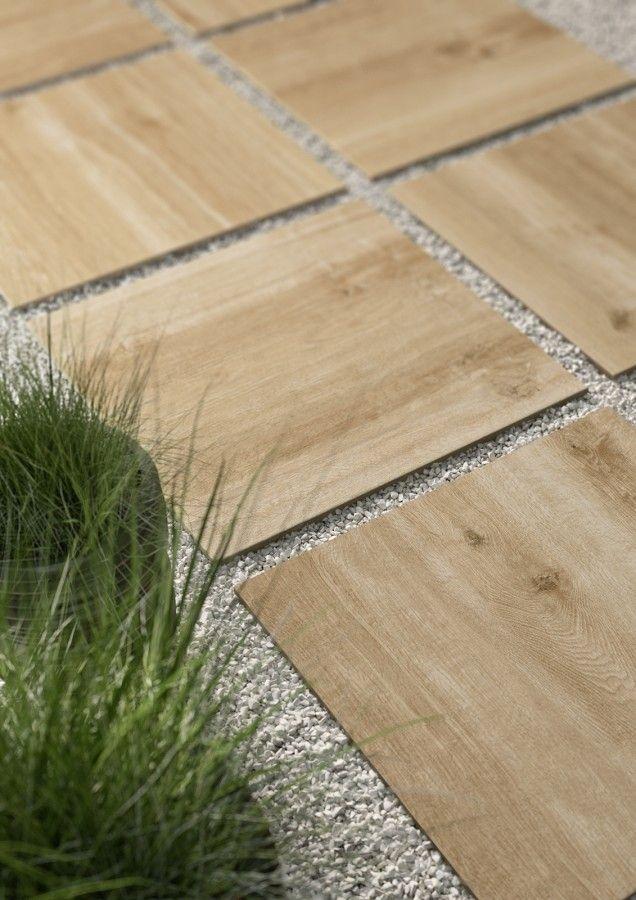 Venkovní terasová dlažba v imitaci dřeva Treverkhome20   Keramika Soukup