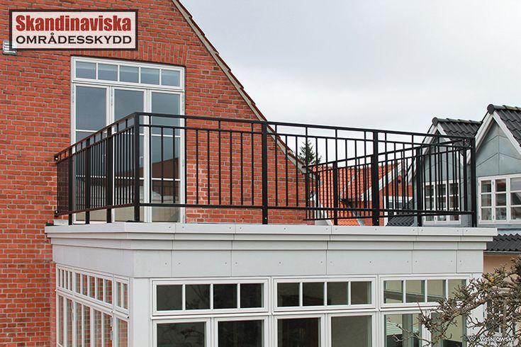 Smidesräcken för balkong och veranda - Räcken