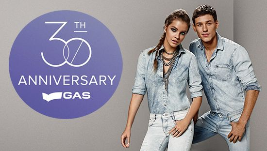 GAS_jeans_anniversario #gasfreefor30seconds