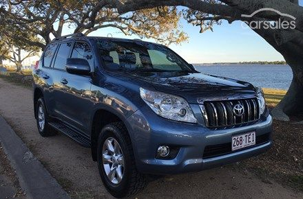 2013 Toyota Landcruiser Prado GXL Auto 4x4 $43300 95000 QLD SOLD