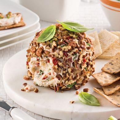 Boule de fromage à l'ail grillé - Recettes - Cuisine et nutrition - Pratico Pratique
