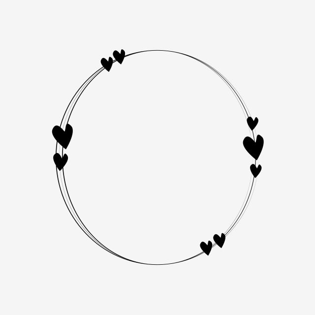Circle Love Frame Clipart Png Vector Element Heart Frame Circle Frame Png And Vector With Transparent Background For Free Download Love Frames Frame Clipart Circle Frames
