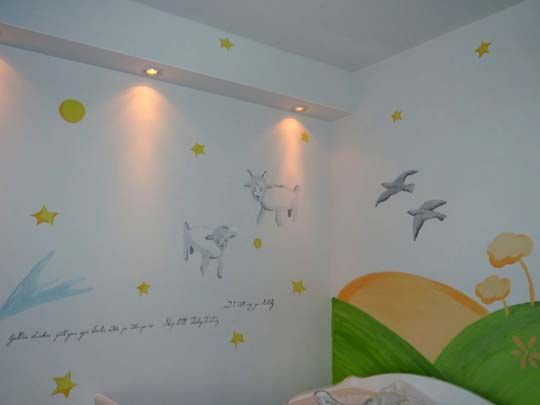 If I have little boy, this Le Petit Prince inspired nursery has just jumped to a favorite!!