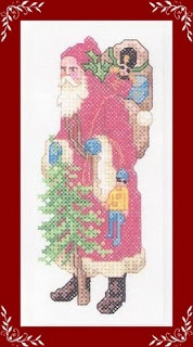 Santa with toy soldier: Christmas Crosses, Happy Feel-, Send, Stitches Part5, Pai Natal, Stitches Christmas, Merry Christmas, Crosses Stitches, Stitchingcross Stitches