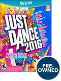 Just Dance 2016 - PRE-Owned - Nintendo Wii U, Multi