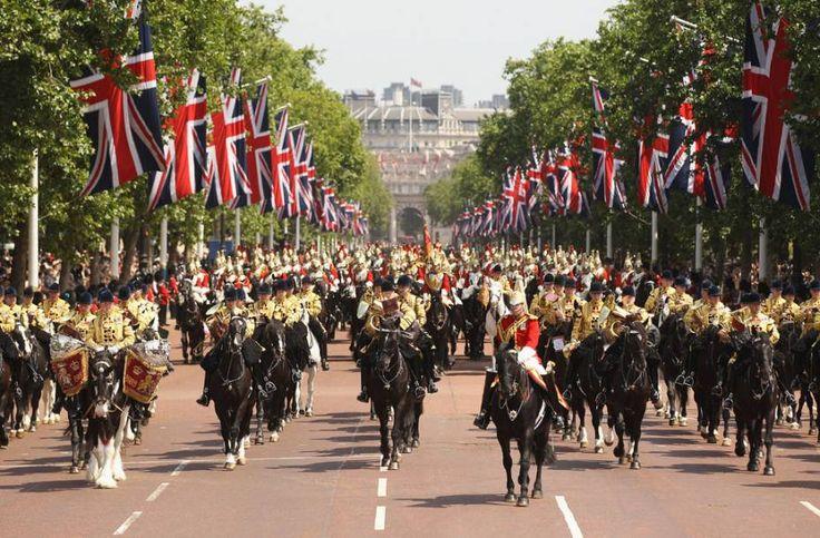Horse Guards Parade, cavalaria real, Londres, Inglaterra