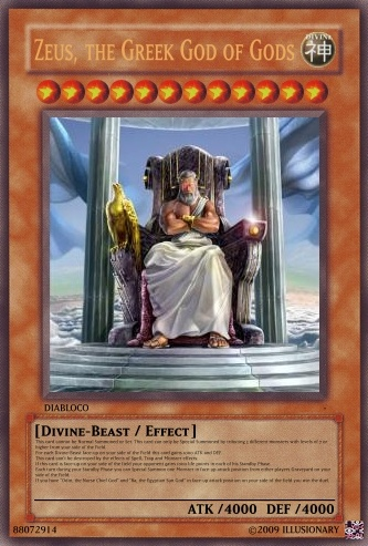 Divine-Beasts - Realistic Cards - Multiple Cards - Yugioh ...