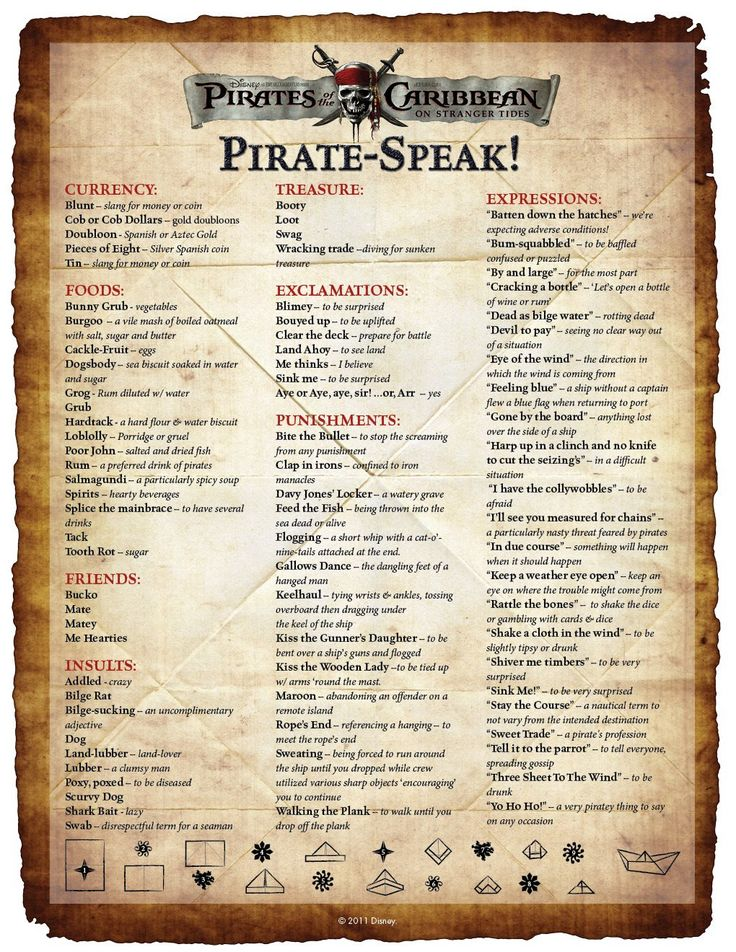 Arrgh! It's Talk Like a Pirate Day! | The Good Stuff Guide