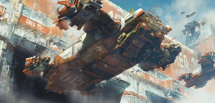 ArtStation - Cargo Transporters, Ivan Laliashvili