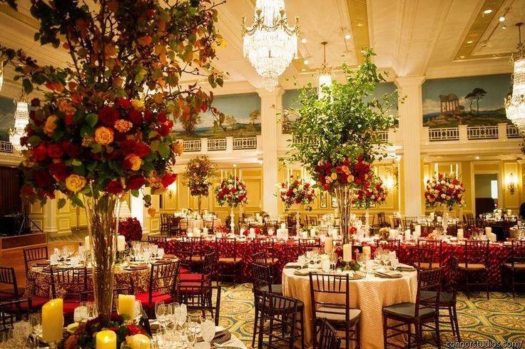 Autumn Inspiration: Washington DC Wedding at The Willard - MODwedding