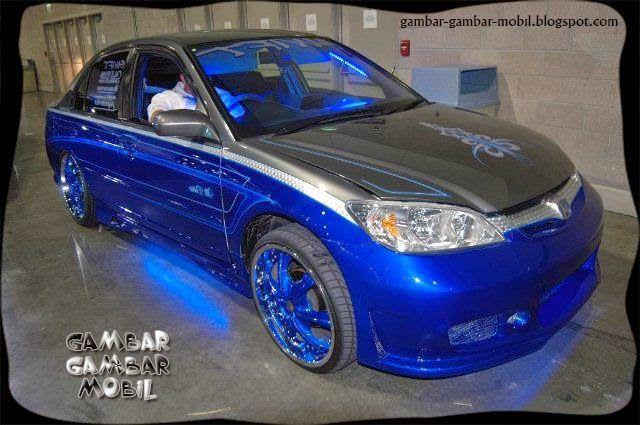 gambar mobil modifikasi sedan