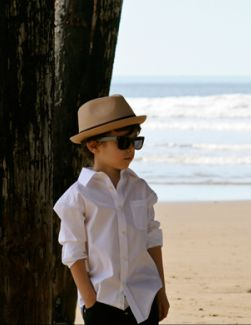 Your little dude will be so cool in a Born to Love Fedora!!!