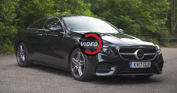 Mercedes-Benz E-Class Coupe Is Much More Than Just A Pretty Face #Mercedes #Mercedes_E_Class