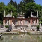Salzburg: Wasserspiele Hellbrunn (park, architecture)