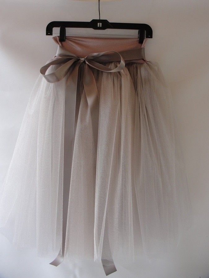 Dusty Rose Tulle Skirt. $140.00, via Etsy.