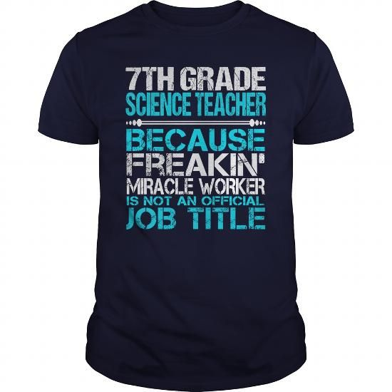 Awesome Tee For 7Th Grade Science Teacher - Hot Trend T-shirts