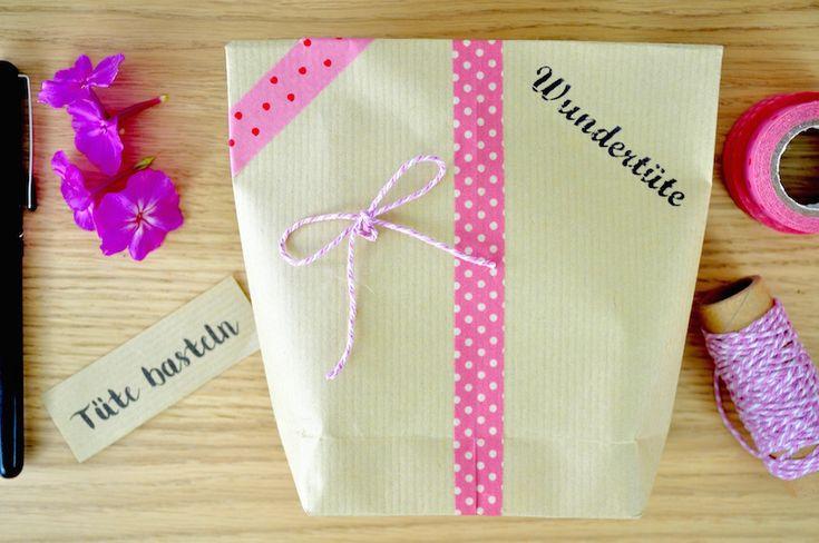 Hier findet ihr eine einfache Anleitung um eine Tüte selbst zu machen. Für den Adventskalender oder als Geschenk, schnell und einfach eine Tüte basteln.