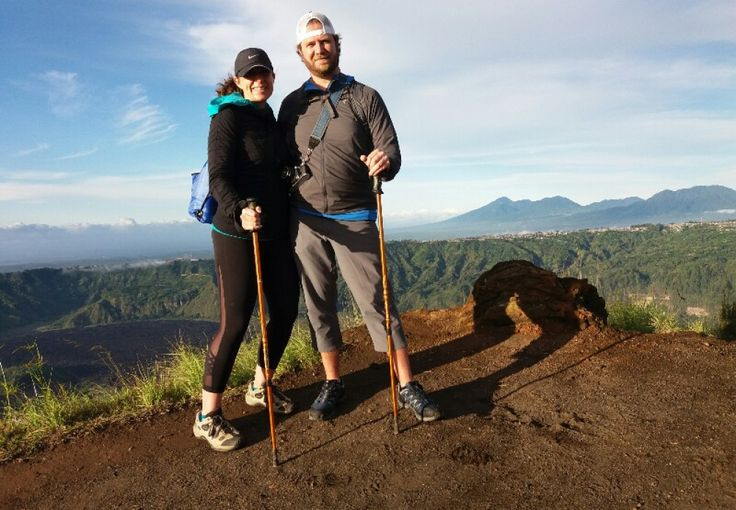 This program is a combination of Mount batur Sunrise trekking and White water rafting in ayung River