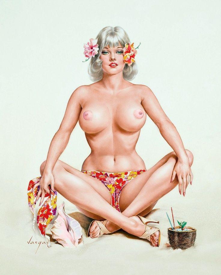 Bbw pinups nudes