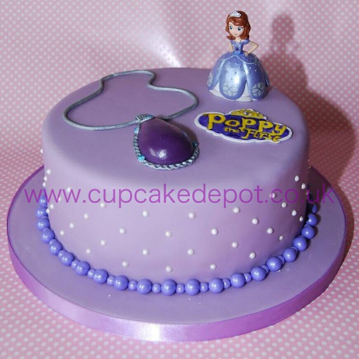 Sofia The First Cake Design Goldilocks : Sofia the First cake Party ideas (kids, showers, etc ...