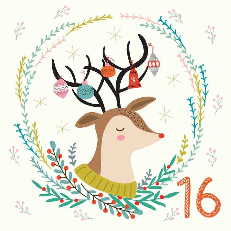 #illo_advent Day 16