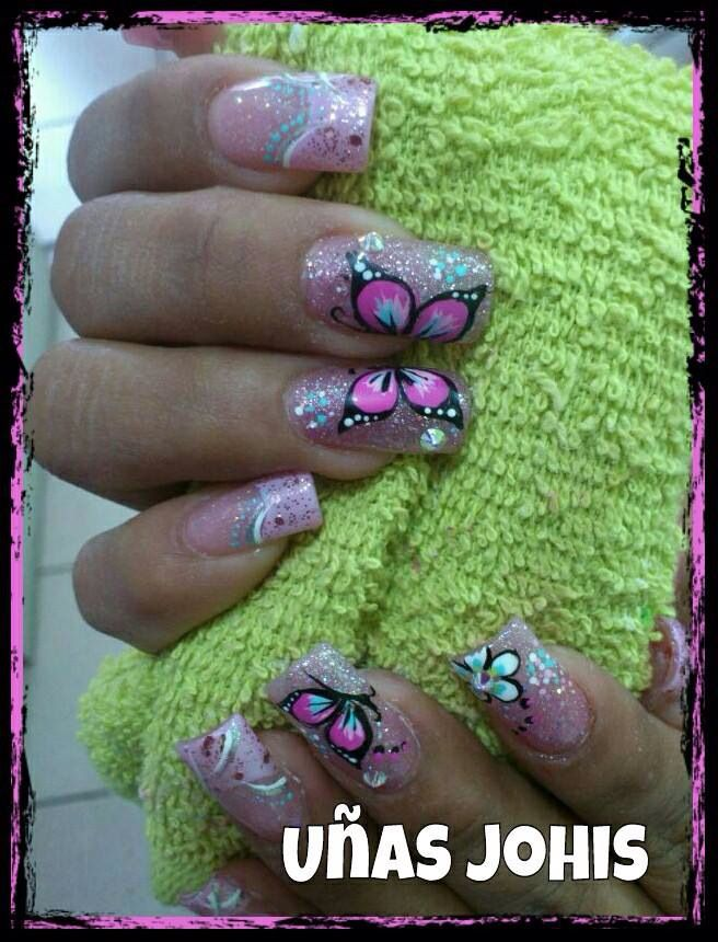 293 best uñas images on Pinterest | Nail scissors, Cute nails and ...