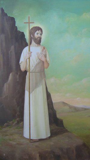 «John the Baptist» («Иоанн Креститель») by Tatiana F. Light  - Сайт goldenage-fed!
