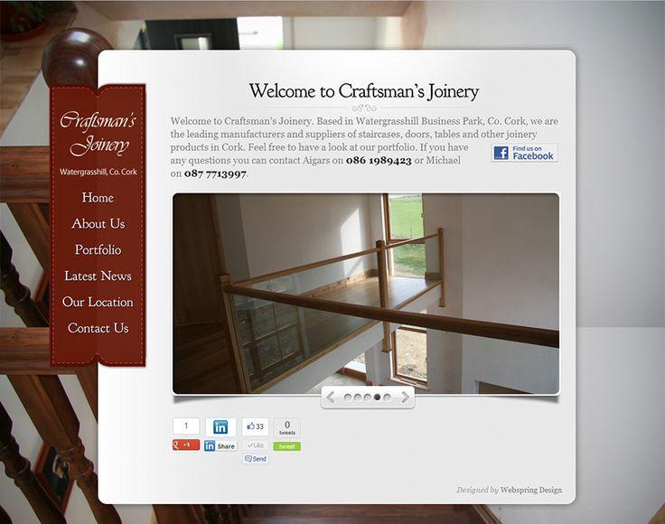 Craftsman's Joinery Website