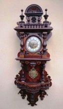 Настенные часы с боем Gustav Becker 110 см