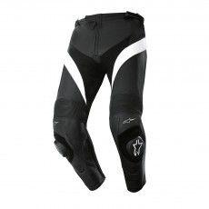 Alpinestars Missile Leather Trousers, black-white