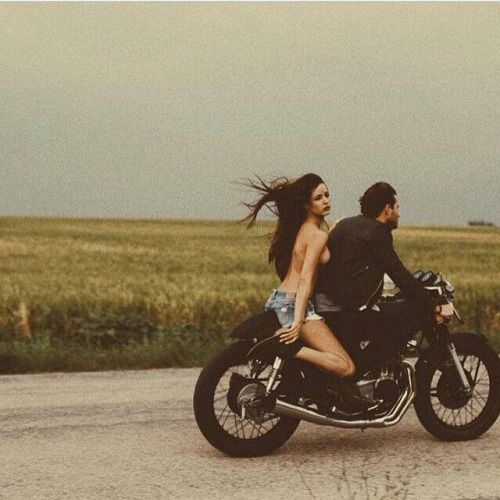 Nude bobber motorcycles babes #13