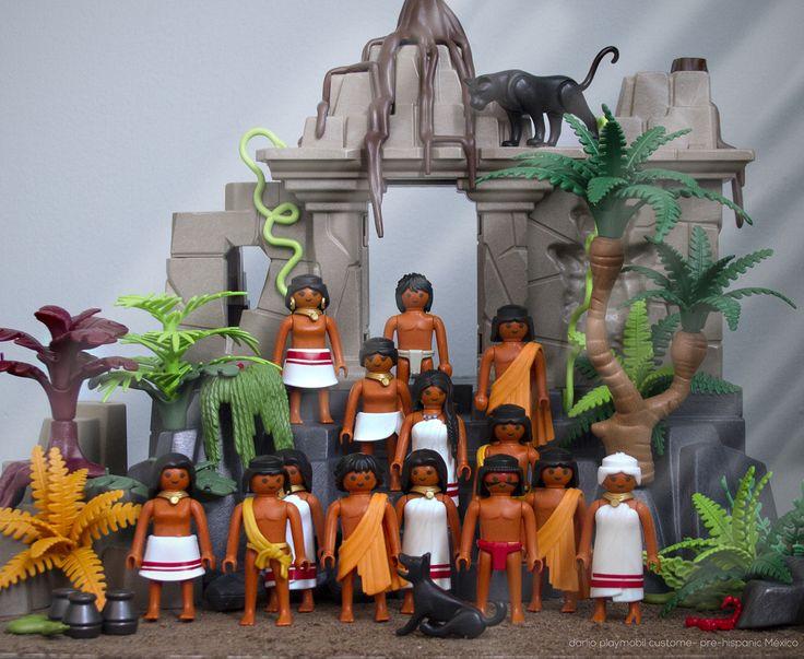 Pre-hispanic Mexico Playmobil custom