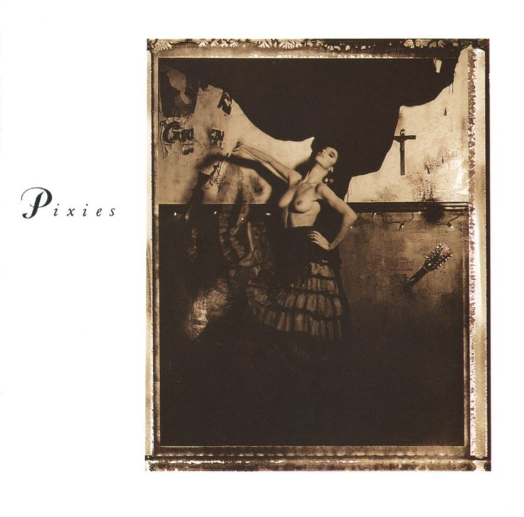 "CvA250. Pixies - ""Surfer Rosa"" by Vaughan Oliver / 4AD 1988 / CAD 803 / #Albumcover"