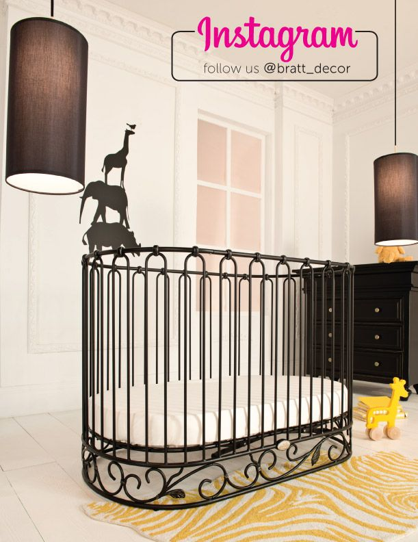 Find This Pin And More On Oval/Round Baby Cribs By Brattdecor.