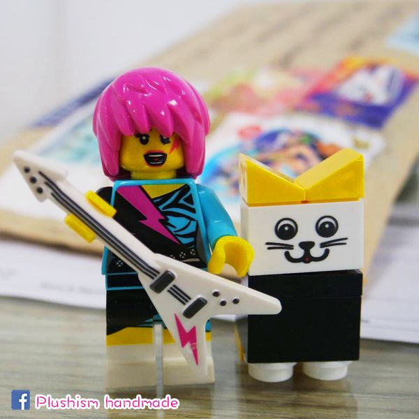 www.plushism.etsy.com  #Lego #Photography #Stamp #Postage #Air #Mail #Guitar #toy #handmade #etsy #seller