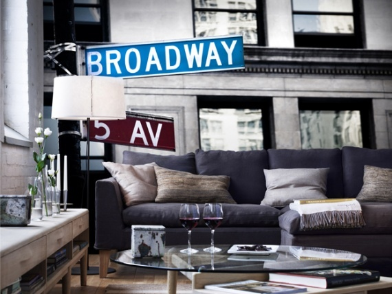 Wall Mural   Broadway Sign In New York