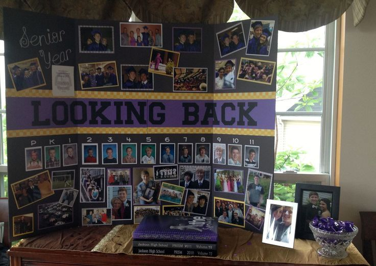 Image result for graduation party photo display ideas