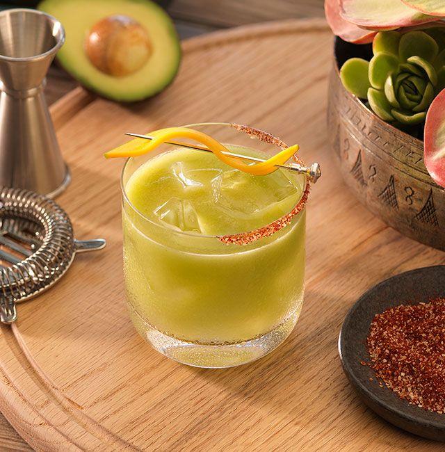 Enjoy Tropicante Margarita, a cocktail made with Patrón Reposado.