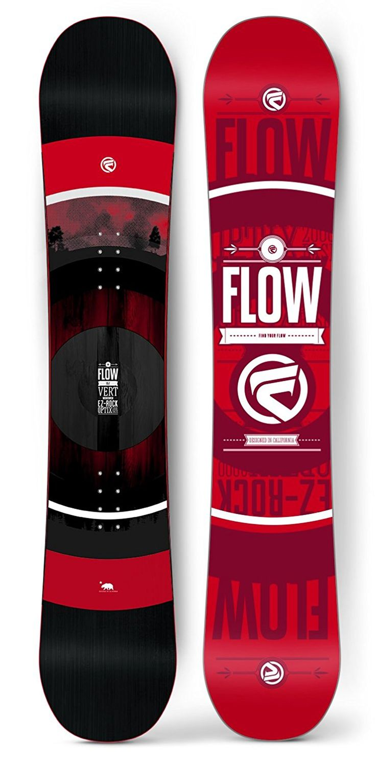 http://amzn.to/2lSrACq  Flow 2017 Men's Vert (Wide) Snowboard - 4 YEAR WARRANTY