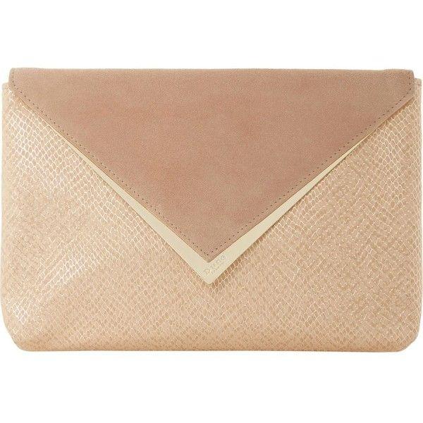 DUNE Behan sname-embossed envelope clutch bag (4,715 MKD) ❤ liked on Polyvore featuring bags, handbags, clutches, envelope clutch, envelope clutch bag, metallic handbags, embossed handbags and dune purses