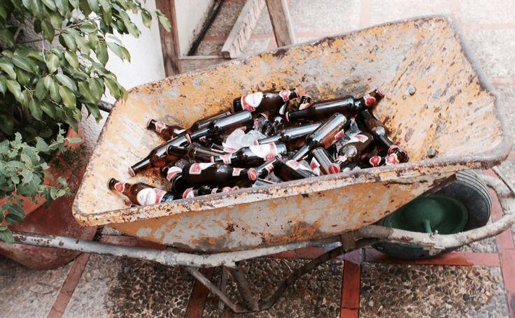 carretilla con cervezas-beer