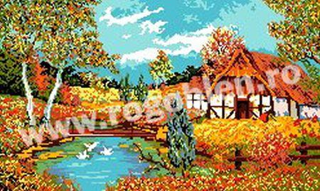 Cod produs 6.24 Toamna ruginie Culori: 21 Dimensiune: 15 x 25cm Pret: 42.41 lei