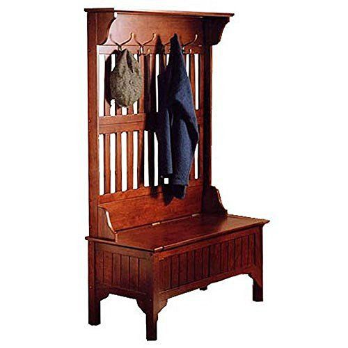 "The storage bench lid has a safety hinge to hold it in open position and prevent it from dropping down. The lid closes easily with a gentle push.   	 		 			 				 					Famous Words of Inspiration...""Our true nationality is mankind.""					 				 				 					H.G. Wells 						— Click... more details available at https://furniture.bestselleroutlets.com/entryway-furniture/hall-trees/product-review-for-cherry-hills-hall-tree-bench-made-in-solid-wood-in-warm-cherry-finish"