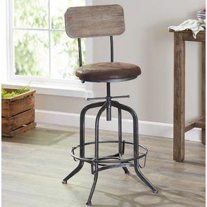 Siyeh Adjustable Height Bar Stool By Trent Austin Design Kitchen