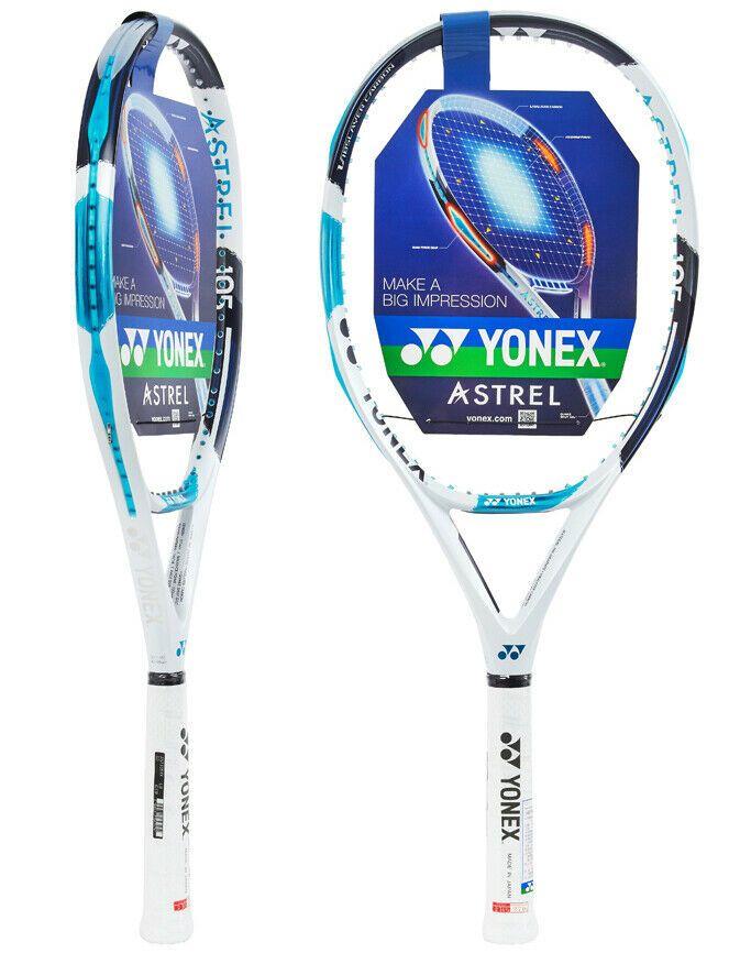 Yonex Astrel 105 Tennis Racquet Racket 100sq 270g G2 16x18 White Blue With Cover Yonex Tennis Racquet Yonex Yonex Tennis