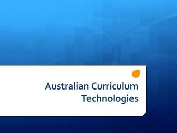 FREE Australian Curriculum Digital Technologies & ICT PPT