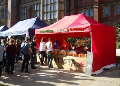 Newcastle University pop up